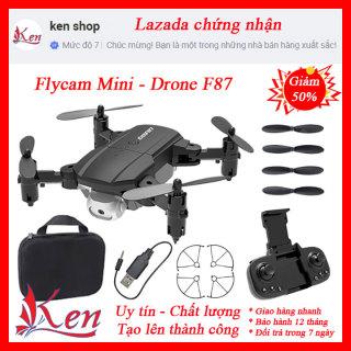 Flycam Mini F87 - flaycam - flycam giá rẻ - flycam có camera - máy bay điều khiển từ xa có camera - máy bay flycam - đồ chơi cao cấp - flay cam - plycam thumbnail