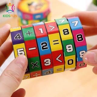 Đồ chơi trẻ em rubic toán học, phát triển khả năng tính toán, kích thích tư duy trí não phát triển cho bé từ 4 đến 8 tuổi thumbnail