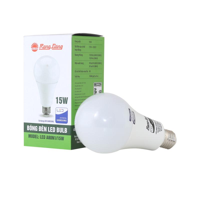 Bóng đèn LED BulD tròn Rạng Đông 15W