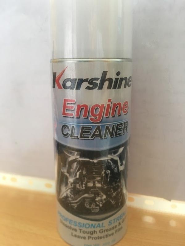 DẦU VỆ SINH LỐC MÁY KARSHINE (Engine Cleaner) 400ml