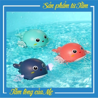 Đồ Chơi Thả Bồn Tắm Cá Heo Con Bơi Văn Cót Dễ Thương Cho Bé Yêu thumbnail