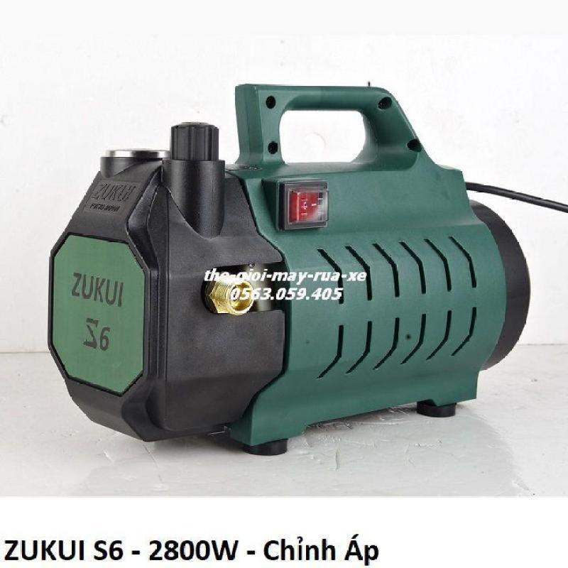 Máy rửa xe chỉnh áp lực Zukui S6 - 2800W