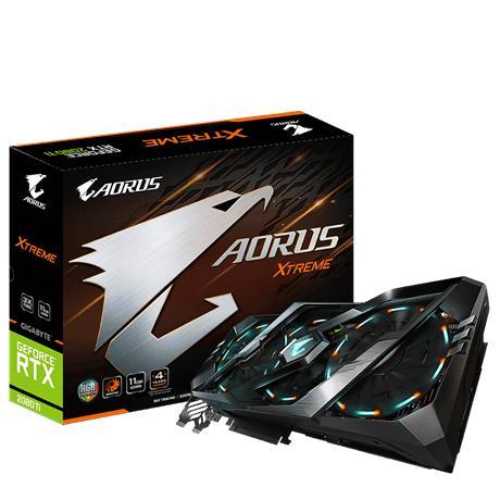 Giá Card màn hình Gigabyte GeForce RTX 2080Ti 11GB GDDR6 AORUS Xtreme (GV-N208TAORUS X-11GC)