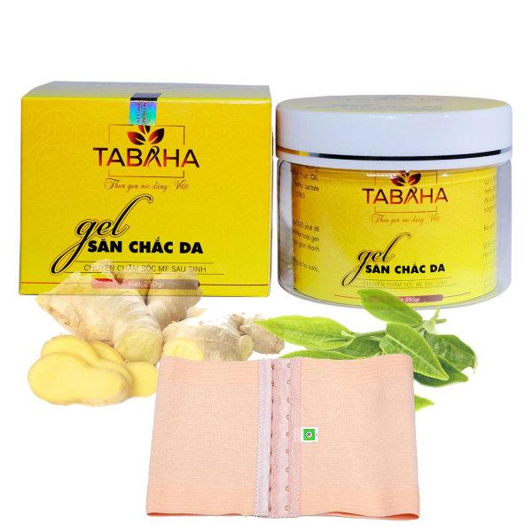 Gel Tan mỡ bụng Tabaha lấy lại vóc dáng cho mẹ sau sinh Tặng Nịt Bụng