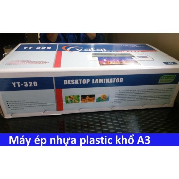 Bảng giá Máy ép nhựa Plastic YT 320 ép bằng lái, CMND, thẻ xe và giấy tờ các loại Phong Vũ