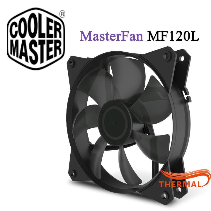 Quạt Fan case 12cm Cooler Master MasterFan MF120L [ThermalVN] - Quạt quay êm, Sức gió tốt