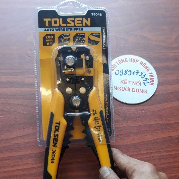 kìm tuốt dây điện chính hãng Tolsen