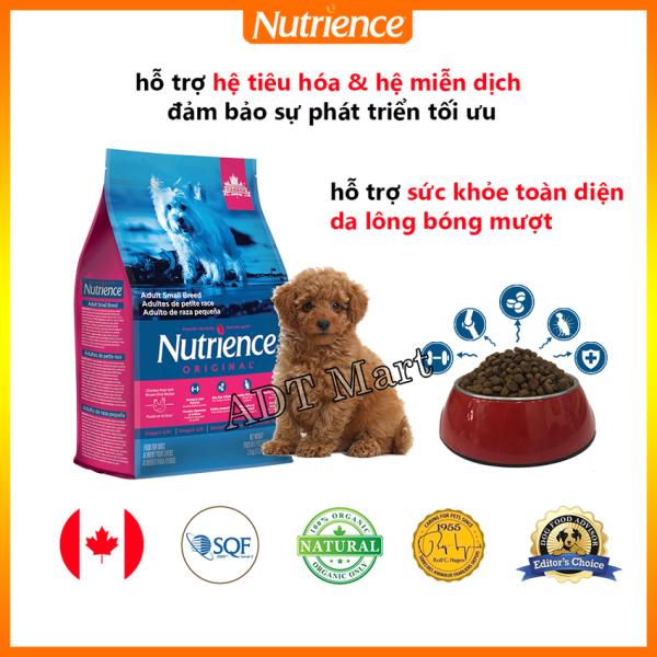 Thức Ăn Cho Chó Poodle Nutrience Original - Thịt Gà, Rau Củ, Trái Cây Tự Nhiên, Hỗ Trợ Hệ Tiêu Hóa, Hệ Miễn Dịch, Da Lông Bóng Mượt, Giàu Chất Xơ, Vitamin, Khoáng Chất Ít Chất Béo, Protein Chất Lượng Cao