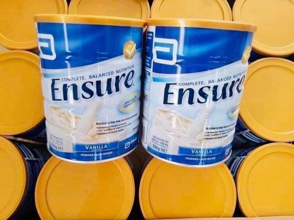 Sữa ensure Úc hộp 850 gram