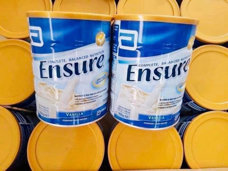Sữa ensure Úc hộp 850 gram cao cấp