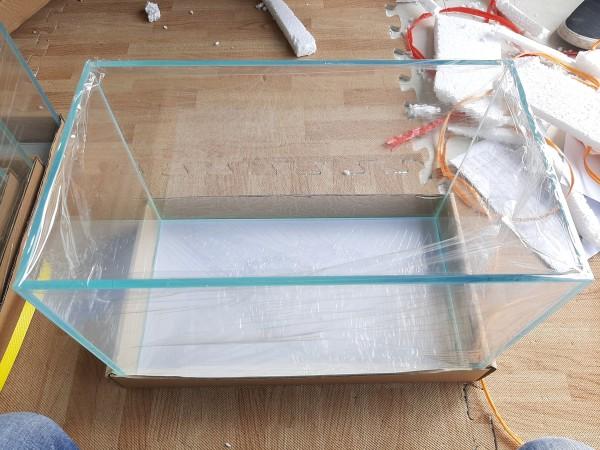 Bể cá mini kính dán siêu trong 35x20x24 cm kính 6mm