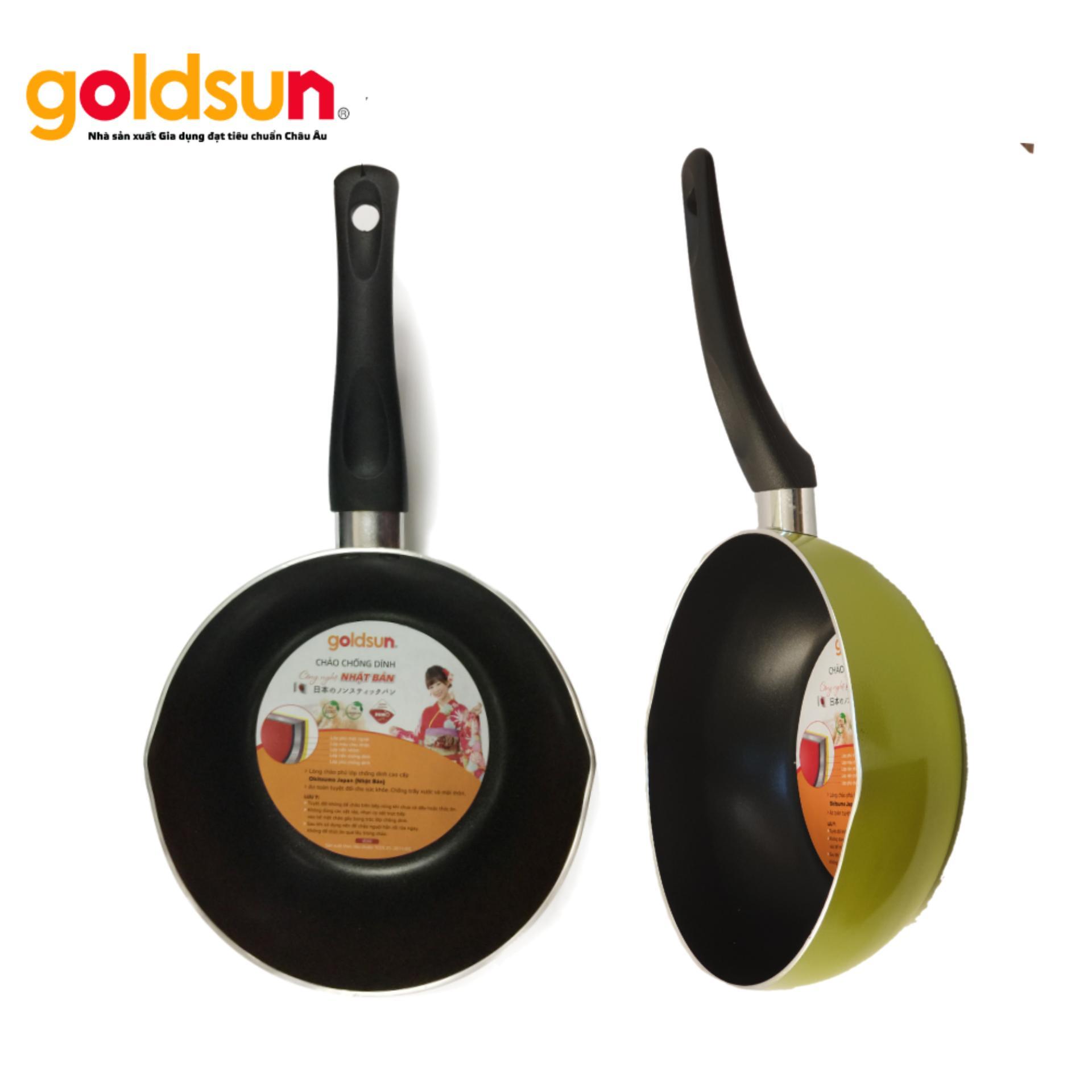 Chảo Chống dính sâu lòng Goldsun FP-GE1520 G