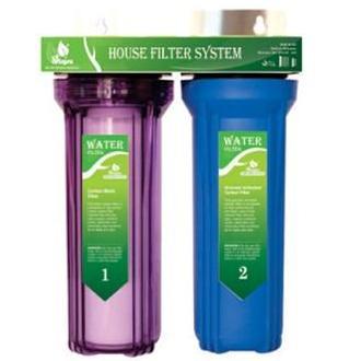 Bảng giá Bộ lọc nước sinh hoạt - bộ lọc thô đầu nguồn 2 cấp ly 10inch chuẩn dùng cho gia đình Điện máy Pico