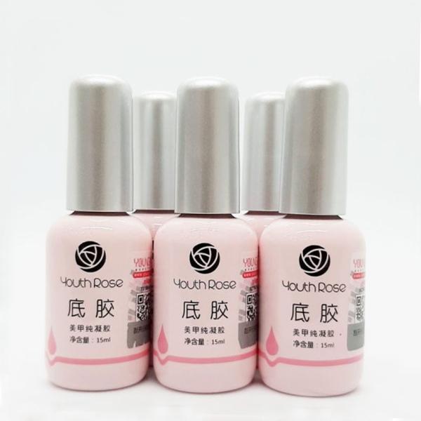 Base Coat hoa hồng Youth Rose chính hãng - gel liên kết chuyên dụng cho dân làm móng
