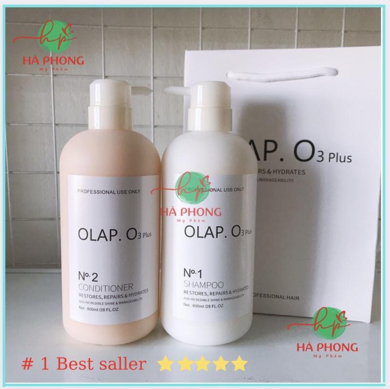 Cặp Dầu Gội OLAP O3 Plus, Dầu Xả OLAP O3, Biotin Và Collagen Phục Hồi Chuyên Sâu 800mlx2 ( Chính Hãng ) giá rẻ