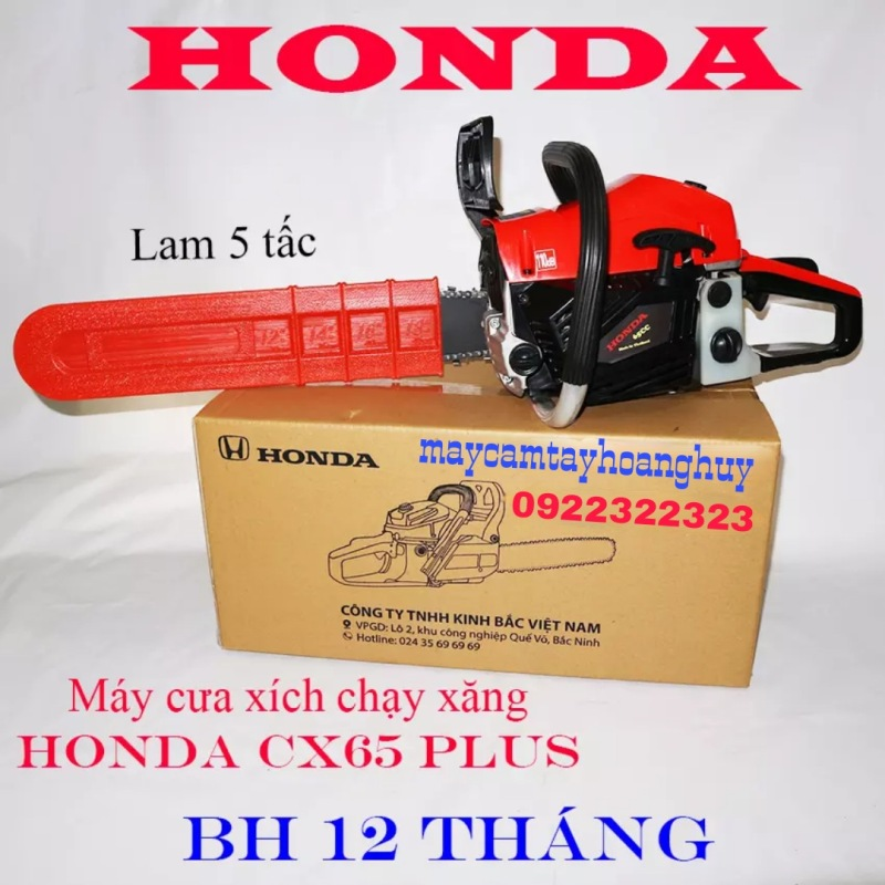 Máy cưa xích cầm tay chạy xăng, máy cưa xích xăng, máy cưa cây HON DA