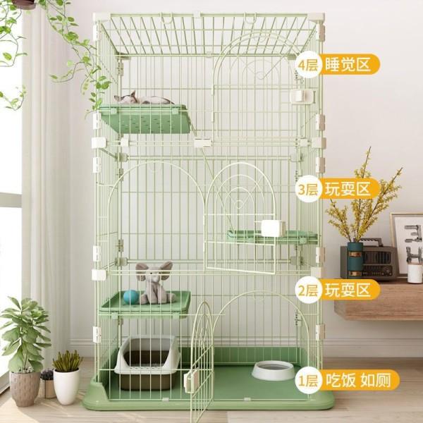 [Giá Đẹp- Hàng Chuẩn] Lồng Nhựa- Chuồng 3 Tầng Mèo- Màu Sắc Xinh Xắn- Sơn Chống Rỉ