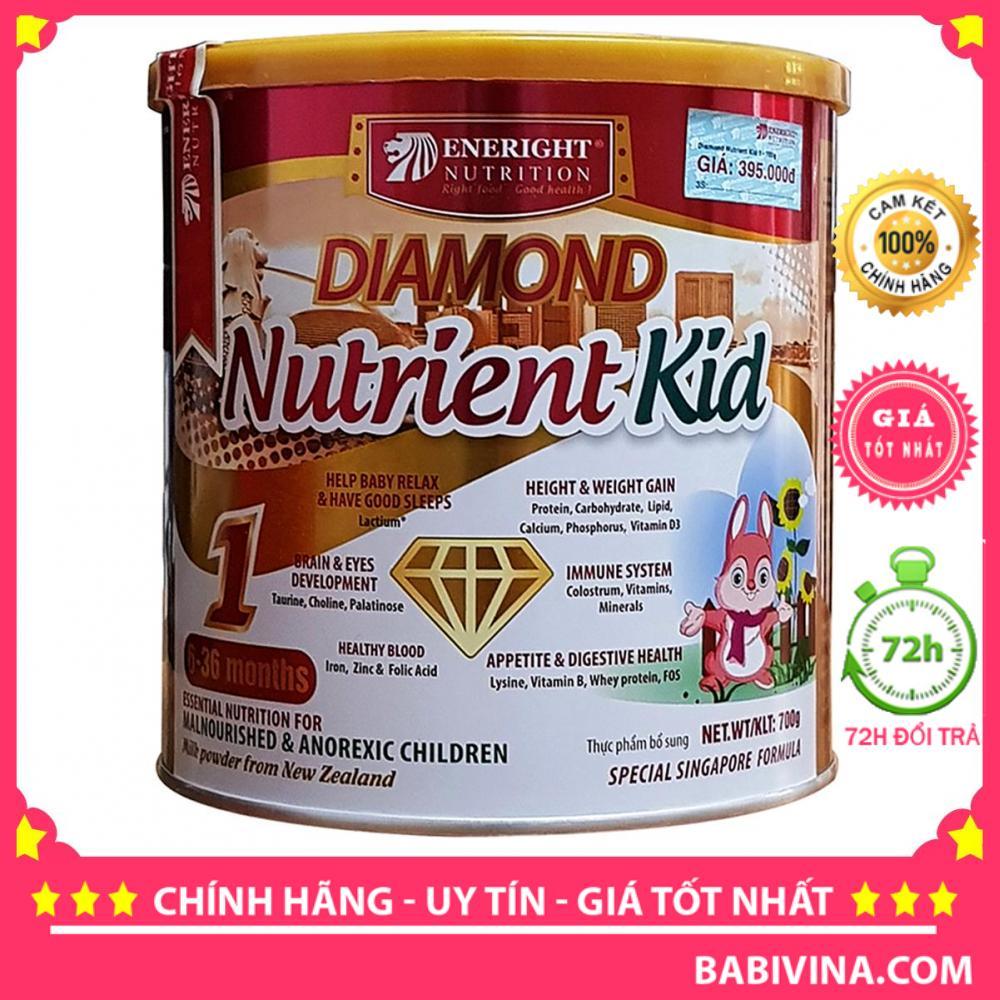 [LẺ GIÁ SỈ] Sữa Diamond Nutrient Kid 1 700g Hãng Eneright Việt Nam