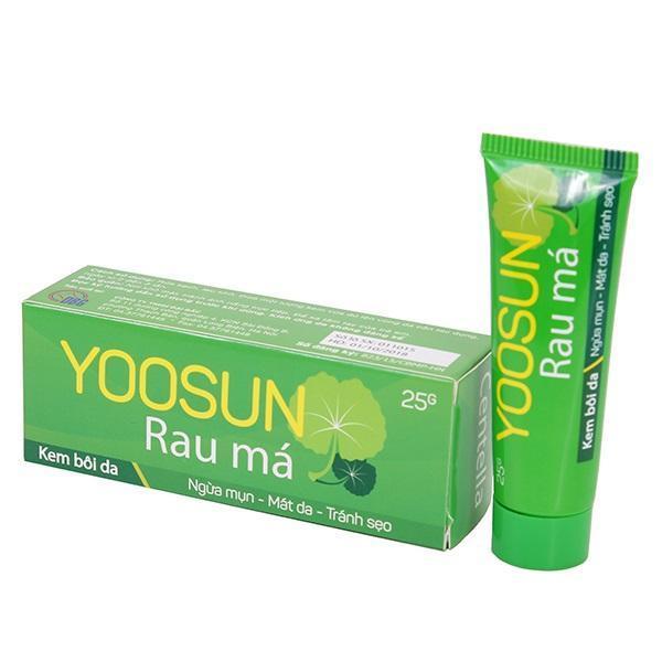 Kem bôi da YOOSUN RAU MÁ ngăn ngừa mụn, giảm thâm 25g