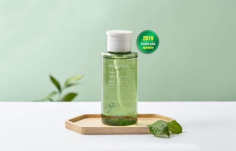 Nước Tẩy Trang Cho Da Dầu Mụn Innisfree Green Tea Cleansing Water 300ml - Girlstalk shop cao cấp