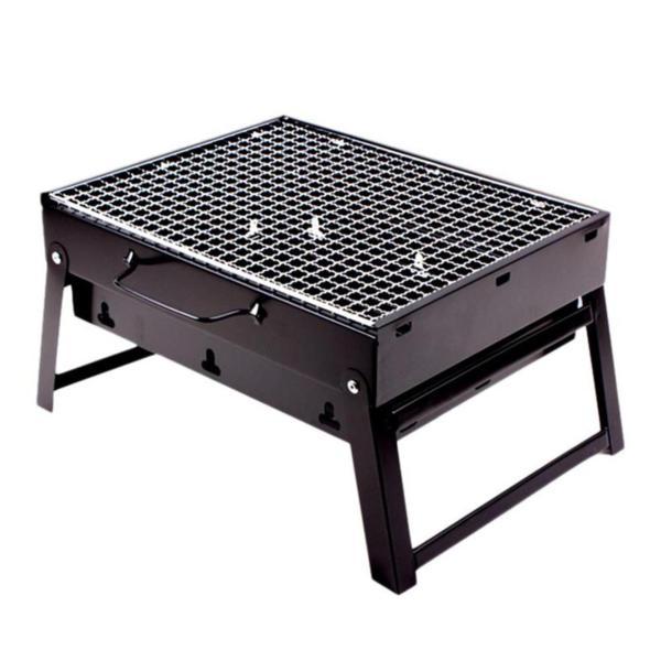 Bếp nướng than hoa vuông BBQ cao cấp