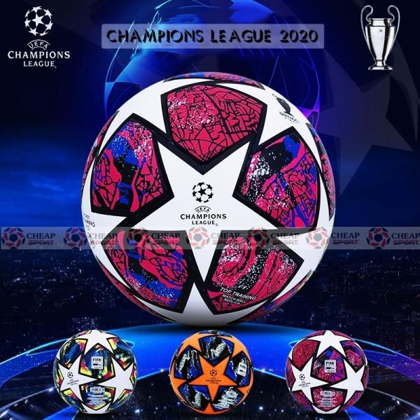Quả Bóng Đá Champions League 2021 Size 4 5 Da PU Cao Cấp Phù Hợp Sân Cỏ Nhân Tạo Và Sân Cỏ Tự Nhiên (Bóng đúc cao cấp)