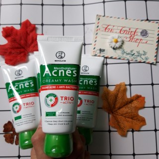 Kem rửa mặt ngăn ngừa mụn Acnes Creamy wash (25g 50g 100g) thumbnail