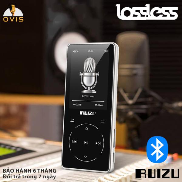 [BH 1 ĐỔI 1] Máy Nghe Nhạc Chất Lượng Cao có Bluetooth 4.1 Ruizu D16
