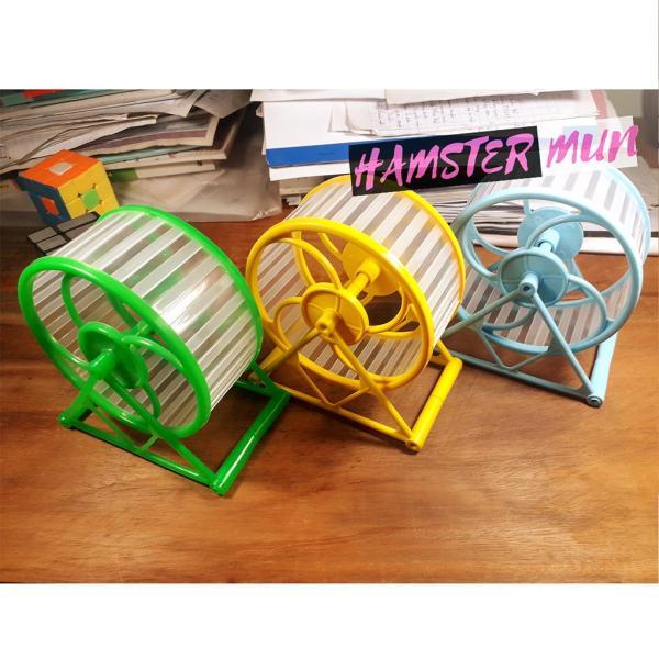 Wheel chạy bằng nhưa cho hamster