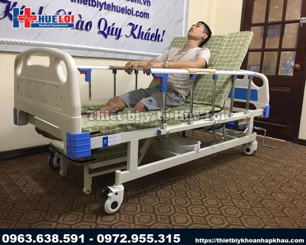 Giường Bệnh Đa Năng 4 Tay Quay - Giường Y Tế