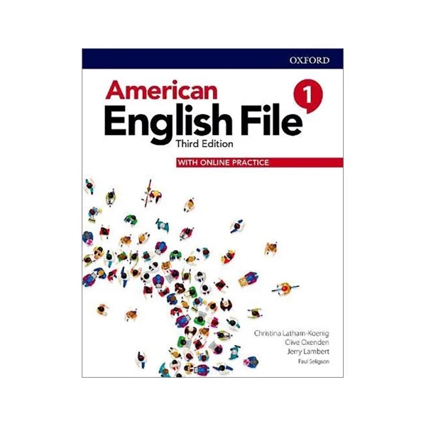 American English File - Level 1 - Students Book With Online Practice - 3rd Edition