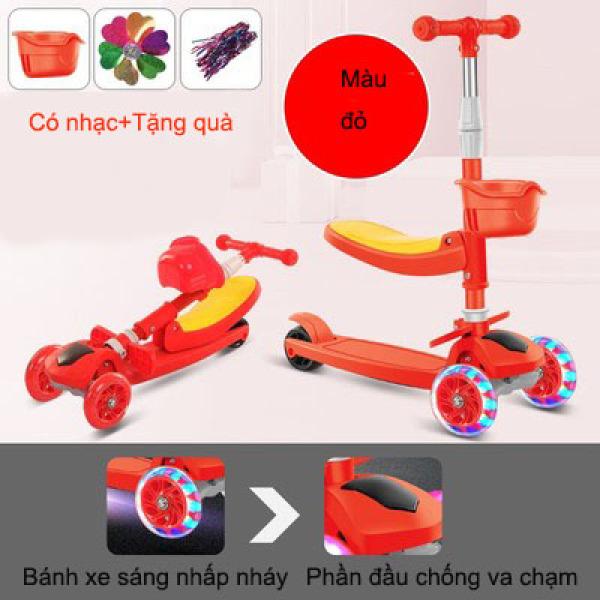 Mua Xe trượt Scooter 3 trong 1 đồ chơi vận động thông minh cho bé