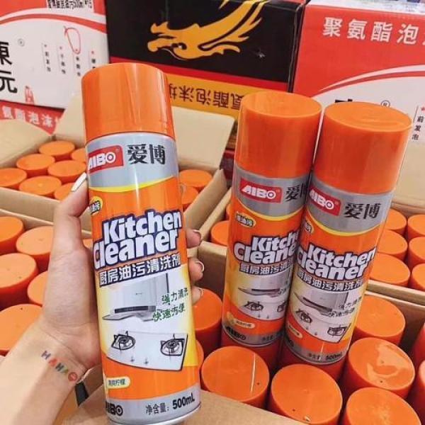 Bình xịt tẩy rửa đồ dùng nhà bếp siêu sạch 500ml - Tẩy sạch cả những vết bẩn lâu ngày