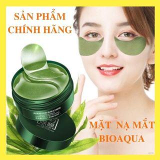 Mặt nạ mắt Bioaqua, đánh tan quầng thâm, dưỡng da vùng mắt, tinh chất collagen làm trẻ hoá da, giảm bọng mắt hiệu quả, 60 miếng thumbnail