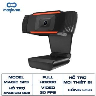 Webcam Magicsee SP3 Full HD1080 dành cho PC , Laptop , Android box ... Hỗ trợ học và làm việc online thumbnail