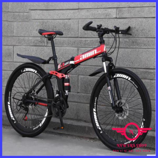 Mua [ẢNH THẬT] Xe đạp địa hình thể thao 21 tốc độ, Điều chỉnh tùy ý, Dễ dàng gấp gọn