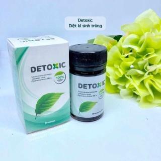 [HCM]Viên uống Detoxic của Nga diệt ký sinh trùng an toàn hiệu quả (hộp 20 viên) thumbnail