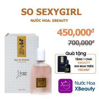 Nước hoa Nữ XBeauty XPo3 So S3xy Girl 30ml (GTIN 8938511722024). Nước hoa cô đặc thơm lâu dành cho Nữ thumbnail
