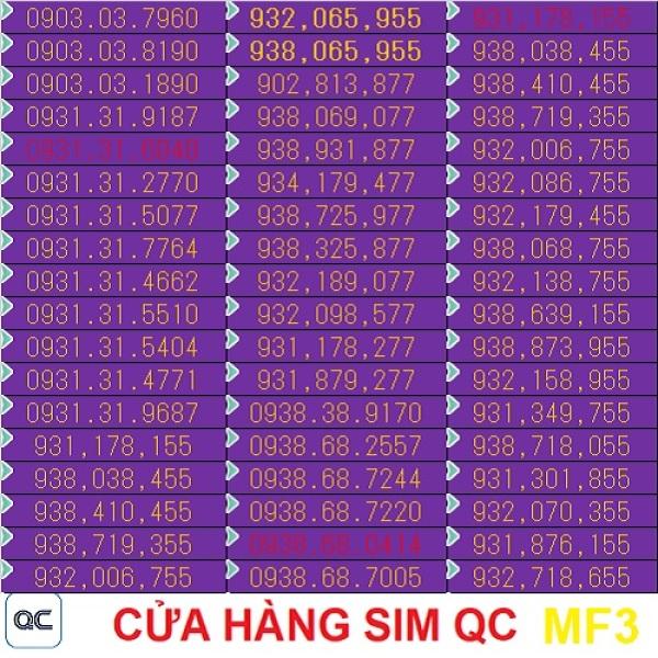 Sim mobifone 090 mỗi ngày 4GB 300 phút liên mạng 1000 phút nội mạng-09mf