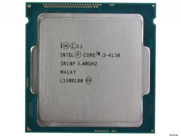 CPU  Intel Core i3-4130 Processor 3M Cache, 3.40 GHz tray kèm fan Nhật Bản