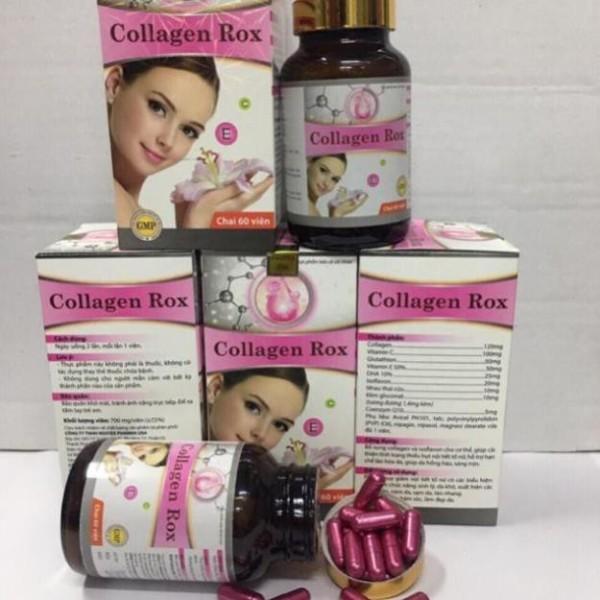 Collagen Rox làm sáng da căng mịn da, tăng cường sinh lý nữ