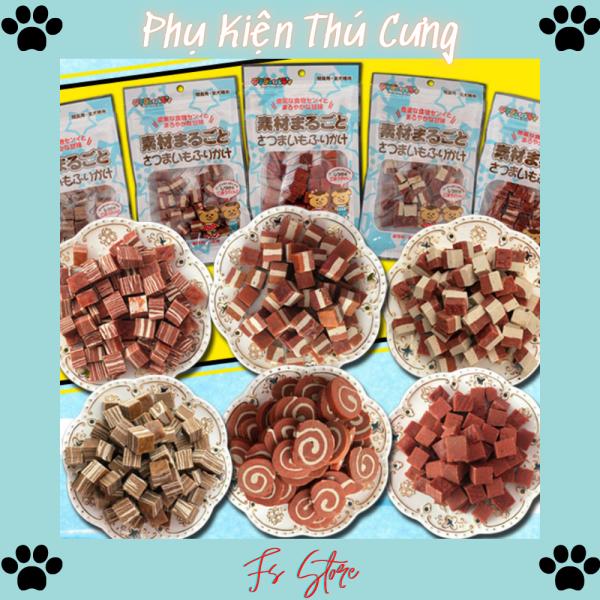 Bánh Thưởng Cho Chó Mèo, Đồ ăn cho chó mèo thú cưng 100g, Q7