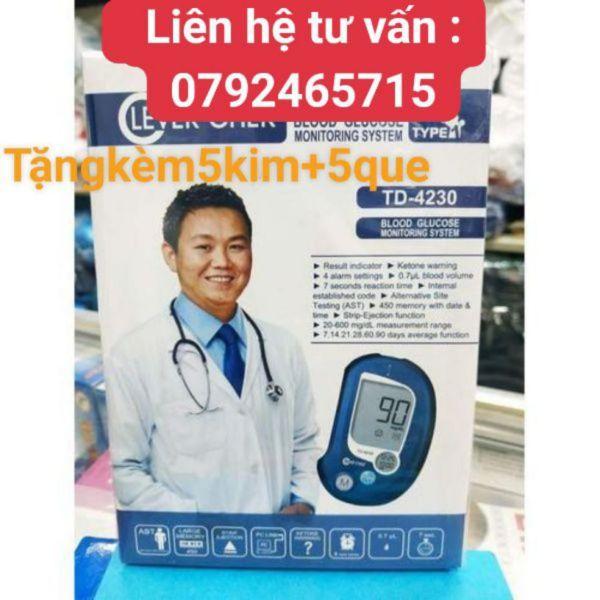 máy đo đường huyết clever chek Td4230 bán chạy