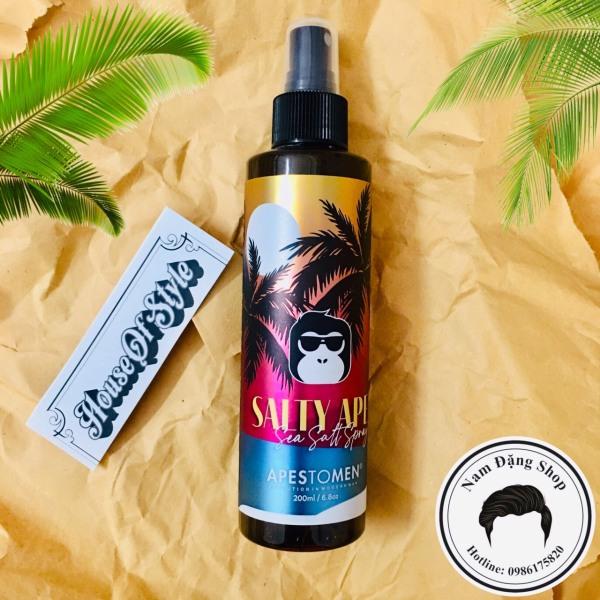 [CHÍNH HÃNG] Xịt tạo phồng tóc Apestomen Salty Ape Sea Salt Spray 200ml