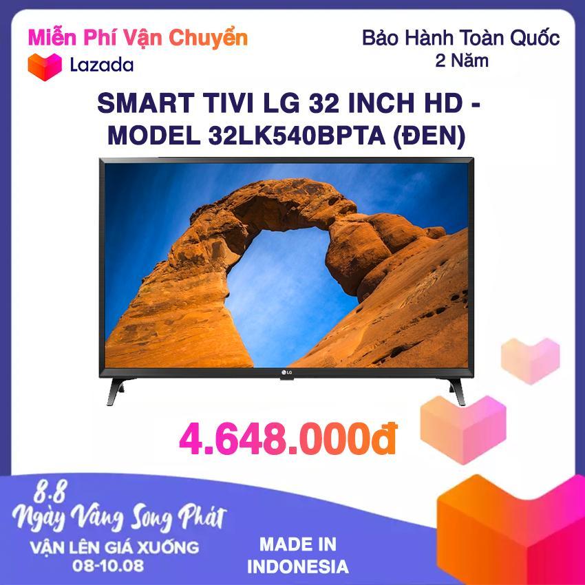 Smart Tivi Led LG 32inch HD - Model 32LK540BPTA (Đen) (NEW 2018)