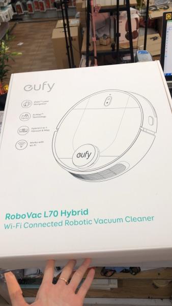 Robot hút bụi lau nhà thông minh Eufy robovac l70 hybrid