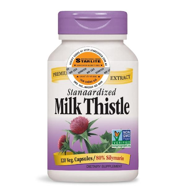 Thực phẩm bổ sung Natures Way Milk Thistle 120 viên