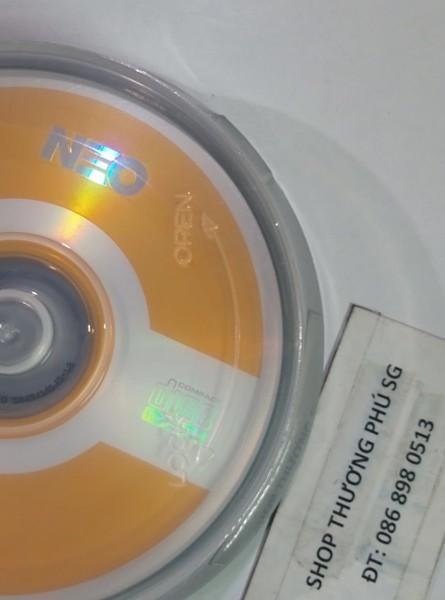 Bảng giá Hộp đĩa trắng CD NEO: Chuẩn CD-R  700MB - 80MIN/52X (Hộp 10 CD) Phong Vũ