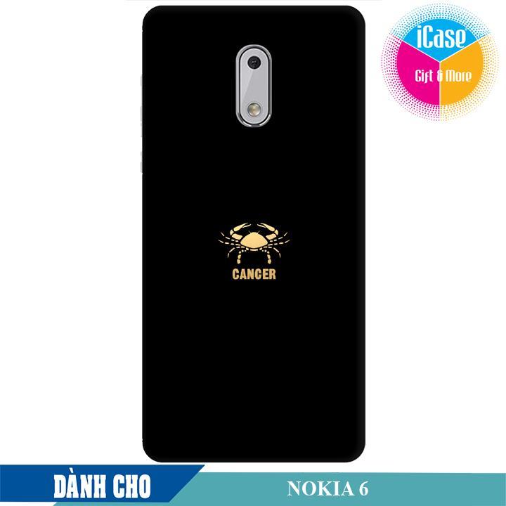 Ốp lưng nhựa dẻo dành cho Nokia 6 in hình Cung Cự Giải