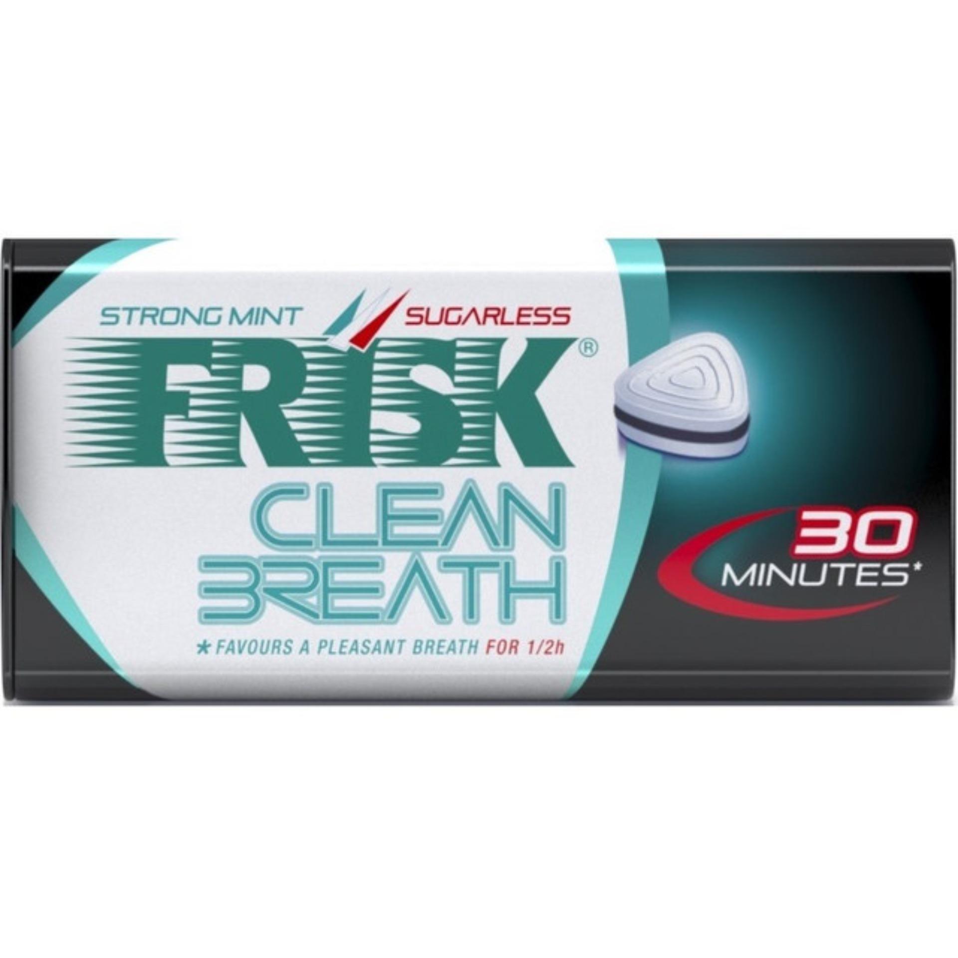 Kẹo ngậm Frisk Clean Breath Strong Mint